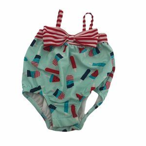 3/6 Month Popsicle Swimsuit NWOT